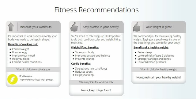 fitnessreccomendations