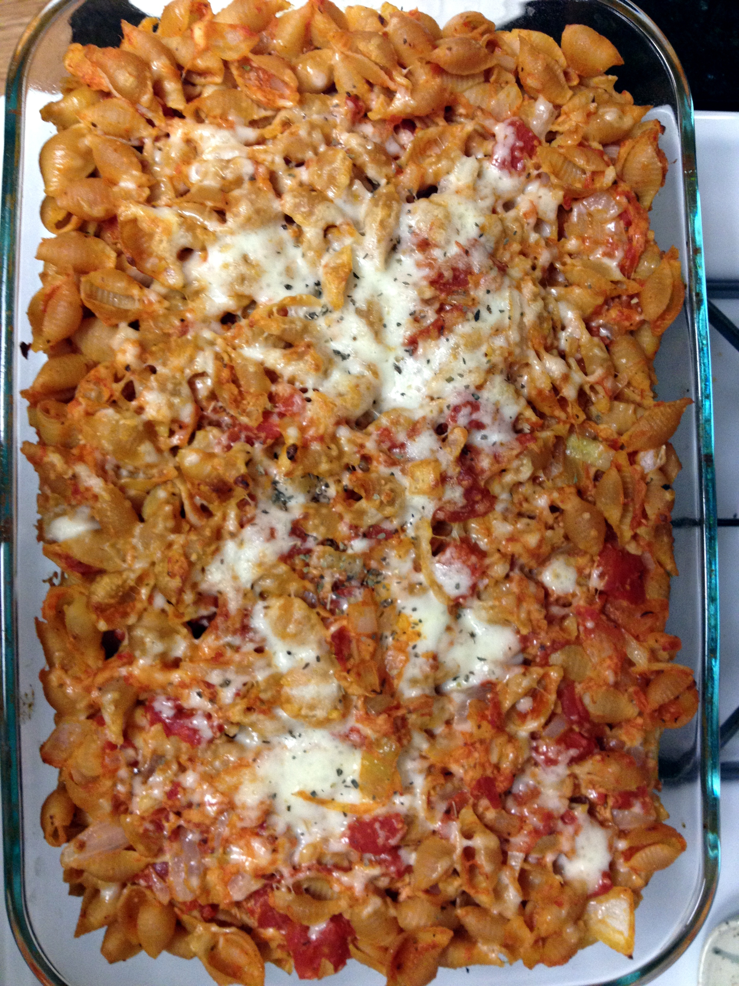 Pepperoni Pasta Bake | Chicken Nugget Girl